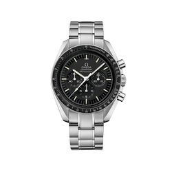 Omega Speedmaster Moonwatch Men's 42mm Stainless Steel Watch With Black Dial , , default