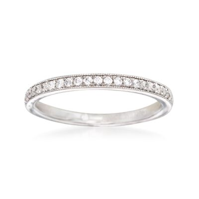 Gabriel Designs .33 ct. t.w. Diamond Wedding Ring in 14kt White Gold, , default