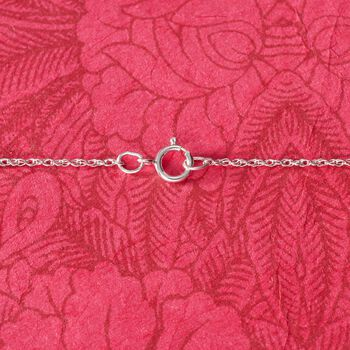 Sterling Silver Lowercase Initial Necklace, , default