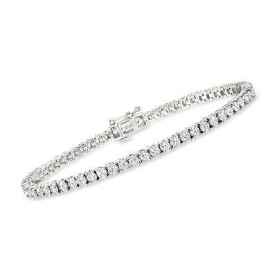 5.00 ct. t.w. Diamond Tennis Bracelet in Sterling Silver