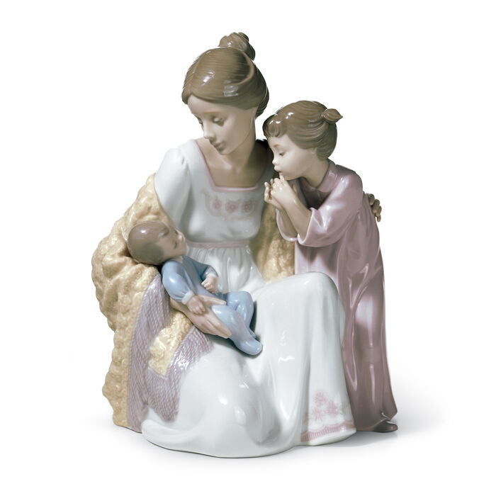 "Lladro ""Welcome to the Family"" Porcelain Figurine"