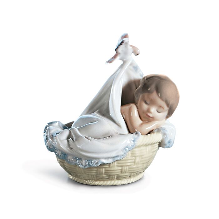 "Lladro ""Tender Dreams"" Porcelain Figurine"