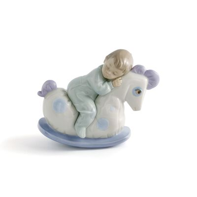 "Nao ""Rock Me to Sleep"" Porcelain Figurine"