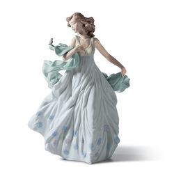 "Lladro ""Summer Serenade"" Porcelain Figurine, , default"