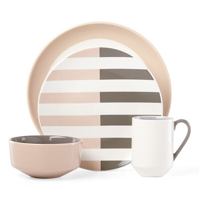 "Kate Spade New York ""Nolita"" Gray 4-pc. Place Setting"