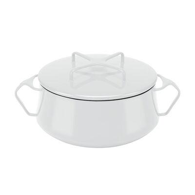 "Dansk ""Kobenstyle"" White Small Casserole Pot with Lid, , default"