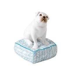 "Royal Doulton ""Top Dog - Lucky"" Bone China Pug Figurine, , default"