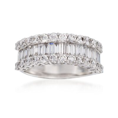 1.68 ct. t.w. Diamond Ring in 18kt White Gold, , default