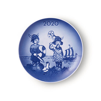"Royal Copenhagen ""Bing & Grondahl"" 2020 Children's Day Porcelain Plate, , default"