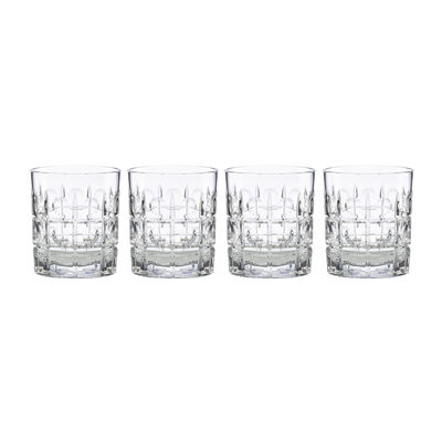 "Reed & Barton 4-pc. ""New Vintage"" Odeon Double Old-Fashioned Glass Set, , default"