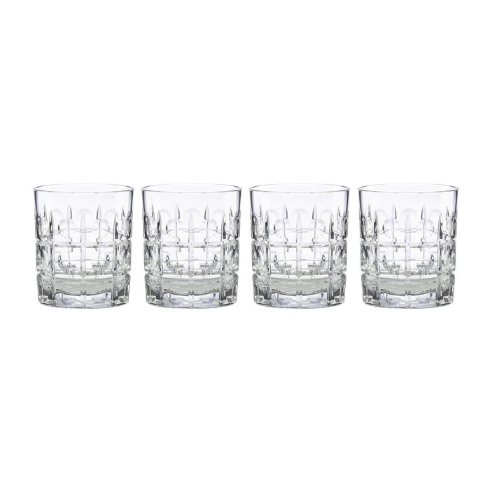 """Reed & Barton 4-pc. """"New Vintage"""" Odeon Double Old-Fashioned Glass Set"""