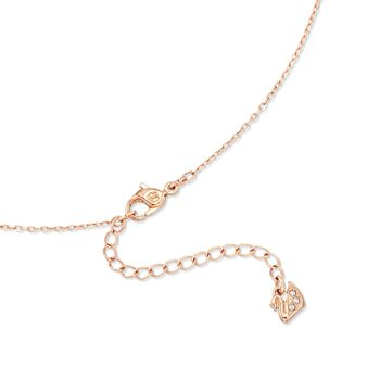 """Swarovski Crystal """"Angelic"""" Round Crystal Necklace in Rose Gold Plate. 15""""  , , default"""