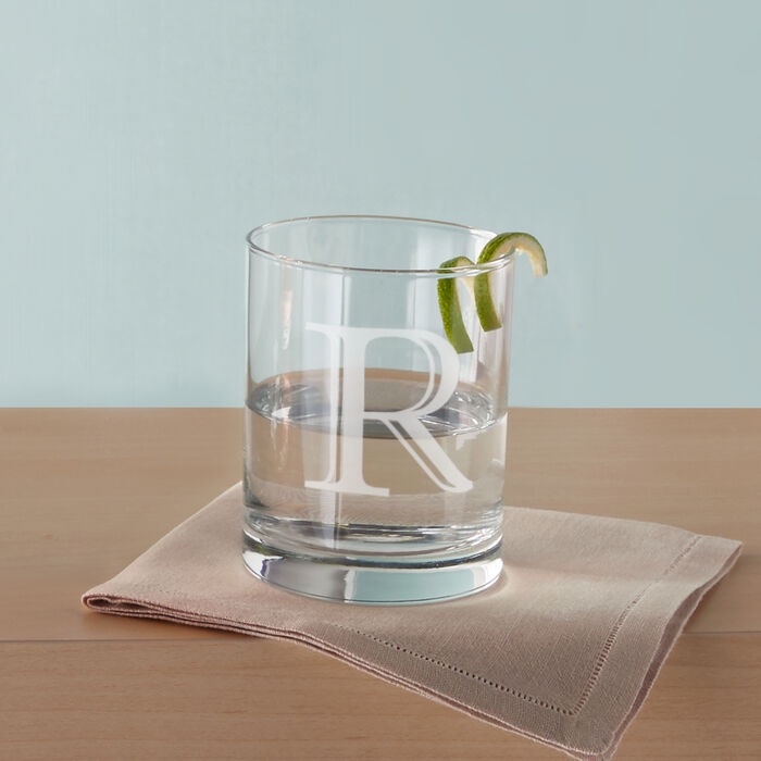 Personalized Double Old Fashioned Glasses, , default