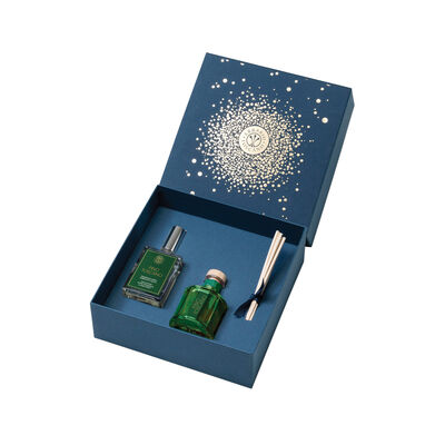 """Erbario Toscano """"Tuscan Pine"""" Diffuser and Spray Set from Italy"""