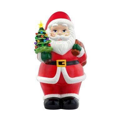 Mr. Christmas Oversized Santa Ceramic Figurine