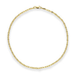 14kt Rose Gold Anchor Chain Anklet, , default