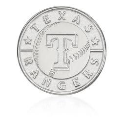 14kt White Gold MLB Texas Rangers Lapel Pin, , default