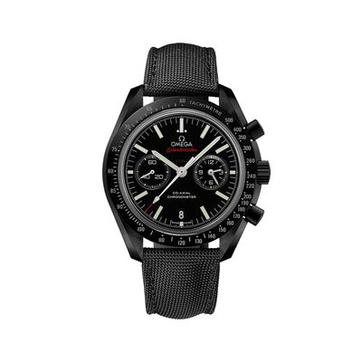 Omega Speedmaster Dark Side of the Moon 44.25mm Black Ceramic Watch with Black Nylon Strap, , default