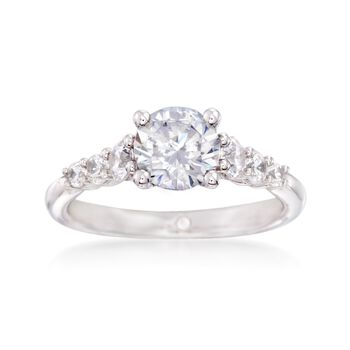 Gabriel Designs .50 ct. t.w. Diamond Engagement Ring Setting in 14kt White Gold, , default