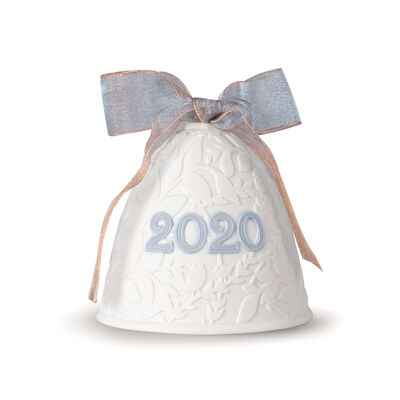 Lladro 2020 Annual Porcelain Bell Ornament