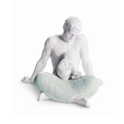 "Lladro ""The Father"" Porcelain Figurine, , default"
