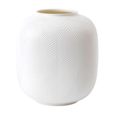 """Wedgwood """"White Folia"""" Rounded Vase, , default"""