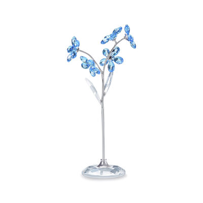 "Swarovski Crystal ""Flower Dreams"" Forget-Me-Not Large Figurine"