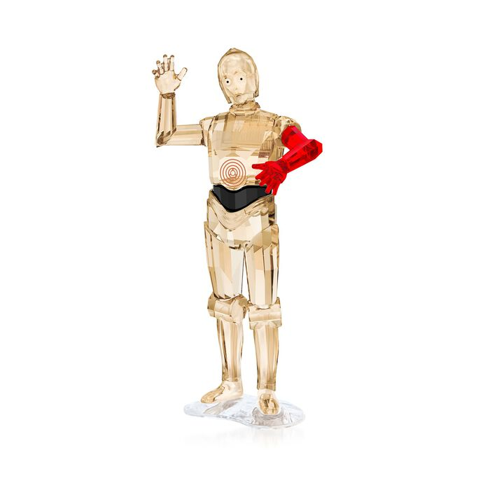 "Swarovski Crystal ""Star Wars - C-3po"" Crystal Figurine , , default"