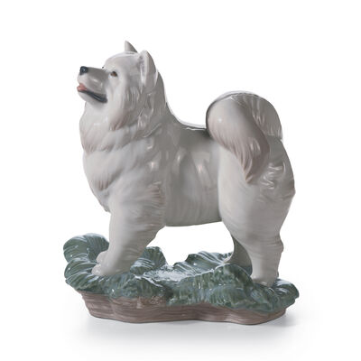 "Lladro Chinese Zodiac Collection ""The Dog"" Porcelain Figurine, , default"