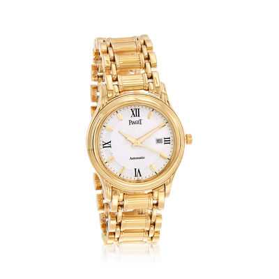 Pre-Owned Piaget Polo Women's 35mm Automatic 18kt Yellow Gold Watch