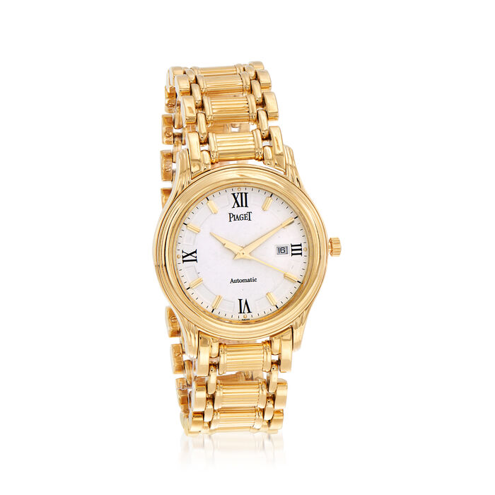 Pre-Owned Piaget Polo Women's 35mm Automatic 18kt Yellow Gold Watch, , default
