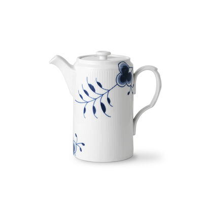 "Royal Copenhagen ""Blue Fluted Mega"" Porcelain Coffee Pot"