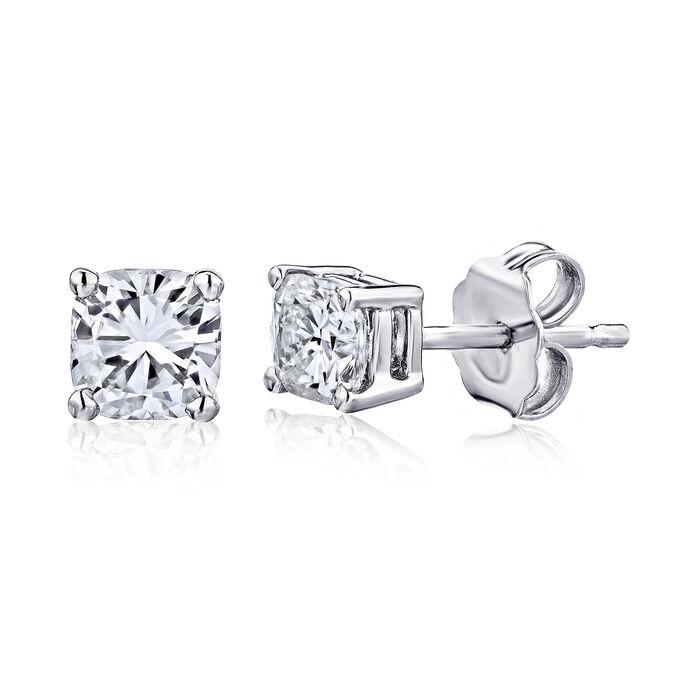 .48 ct. t.w. Certified Diamond Stud Earrings in Platinum