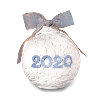 Lladro 2020 Annual Porcelain Ball Ornament