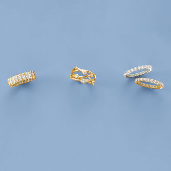 4.00 ct. t.w. CZ Eternity Band in 14kt Yellow Gold, , default