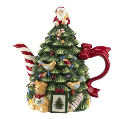 "Spode ""Christmas Tree"" Teapot"