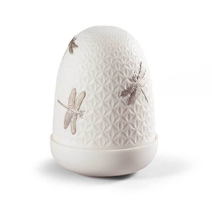 Lladro Dragonflies Cordless Dome Lamp, , default