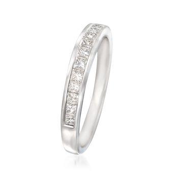 .50 ct. t.w. Diamond Wedding Ring in 14kt White Gold, , default