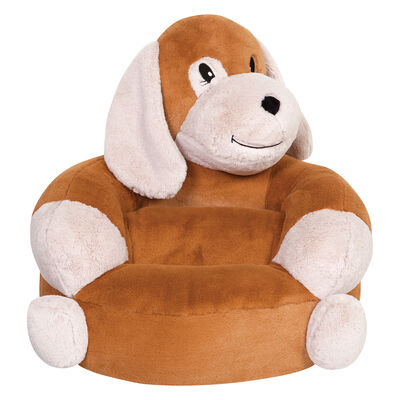 Children's Plush Puppy Chair, , default