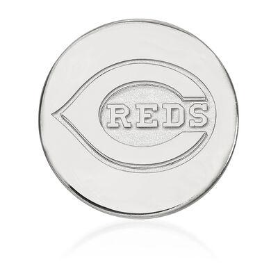 Sterling Silver MLB Cincinnati Reds Lapel Pin, , default