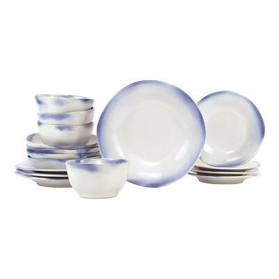 "Vietri ""Aurora Ocean"" 16-pc Dinnerware Set from Italy"