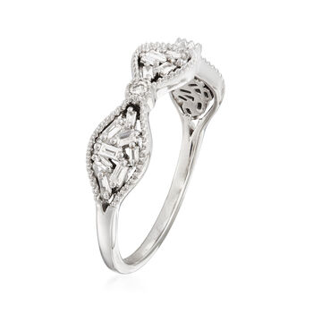 .20 ct. t.w. Diamond Cluster Ring in 14kt White Gold