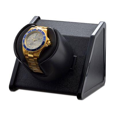 """""""Sparta"""" Black Single Watch Winder by Orbita, , default"""