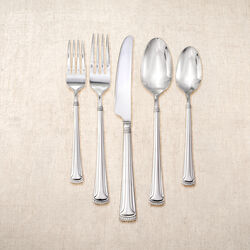 """Yamazaki 20-pc. Service for 4 """"Oyster Bay"""" Stainless Steel Flatware Set , , default"""