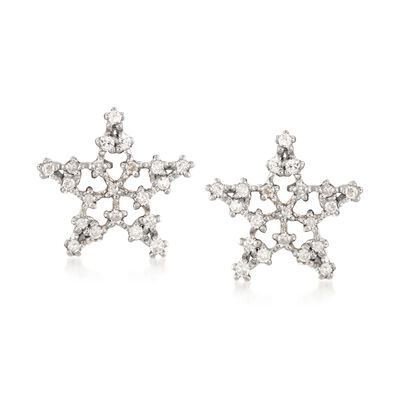 .20 ct. t.w. Diamond Star Stud Earrings in 14kt Yellow Gold , , default