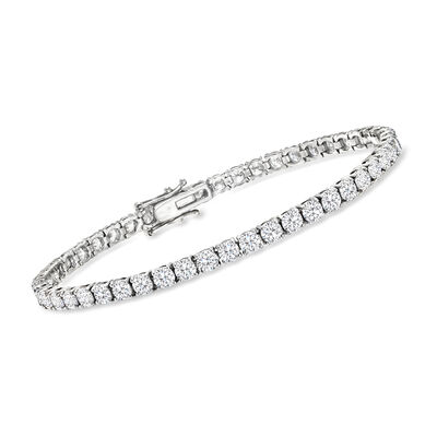 8.00 ct. t.w. Diamond Tennis Bracelet in 14kt White Gold