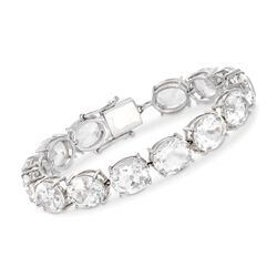 55.00 ct. t.w. Rock Crystal Quartz Bracelet in Sterling Silver, , default
