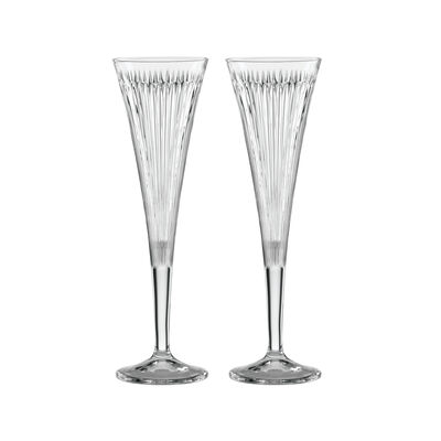 "Reed & Barton ""New Vintage"" Set of 2 Hanson Champagne Flutes, , default"