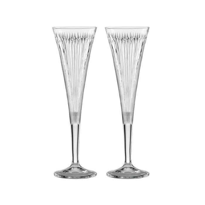 "Reed & Barton ""New Vintage"" Set of 2 Hanson Champagne Flutes, , default"