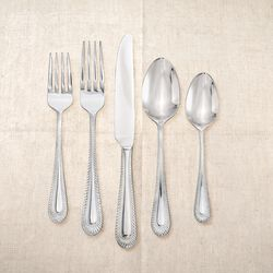 "Studio Silversmiths ""Regal Ribbon"" 18/0 Stainless Steel Flatware, , default"